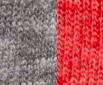 Tri vintage grey tri red