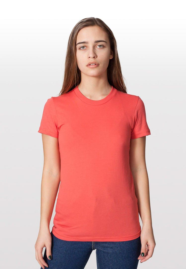 American apparel 2102 org coral