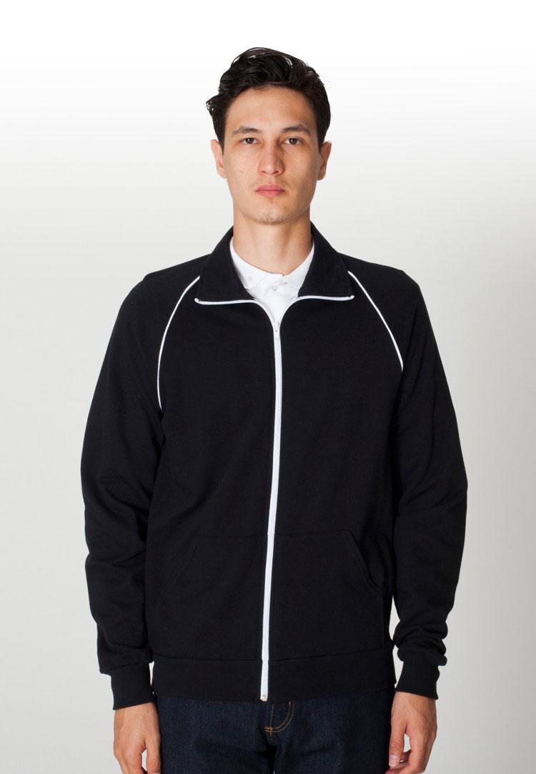American apparel 5455 black white