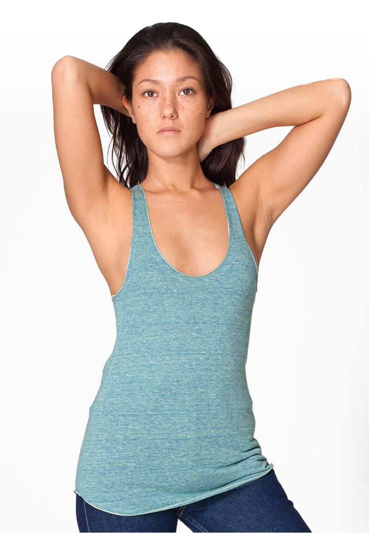 American apparel tr308 tri lemon