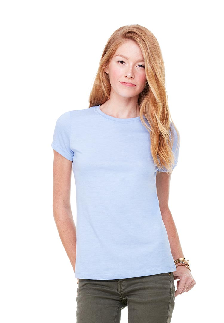 Bella 6004 heather blue