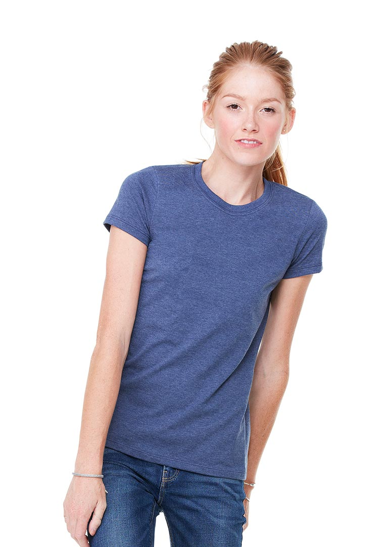 Bella 6004 heather navy