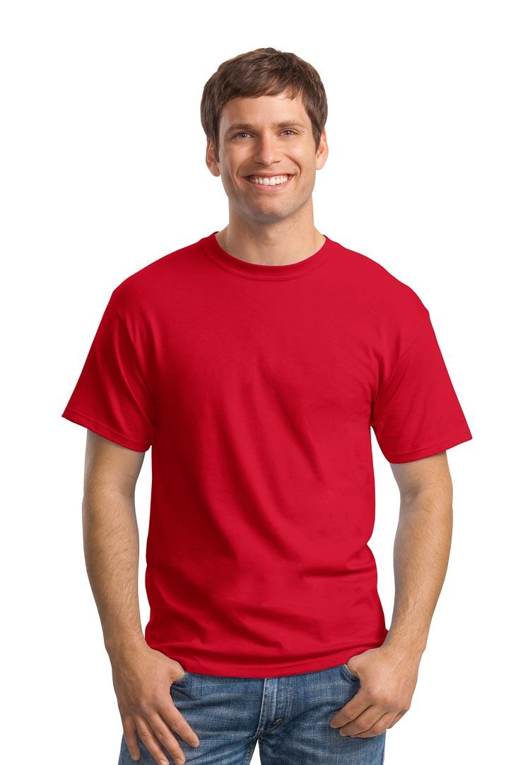 Hanes 5280 deep red