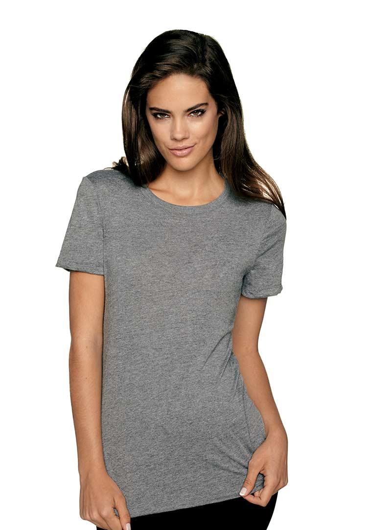 Next Level Tri Blend Crew Junior Fit 6710 Custom: next level printed shirts