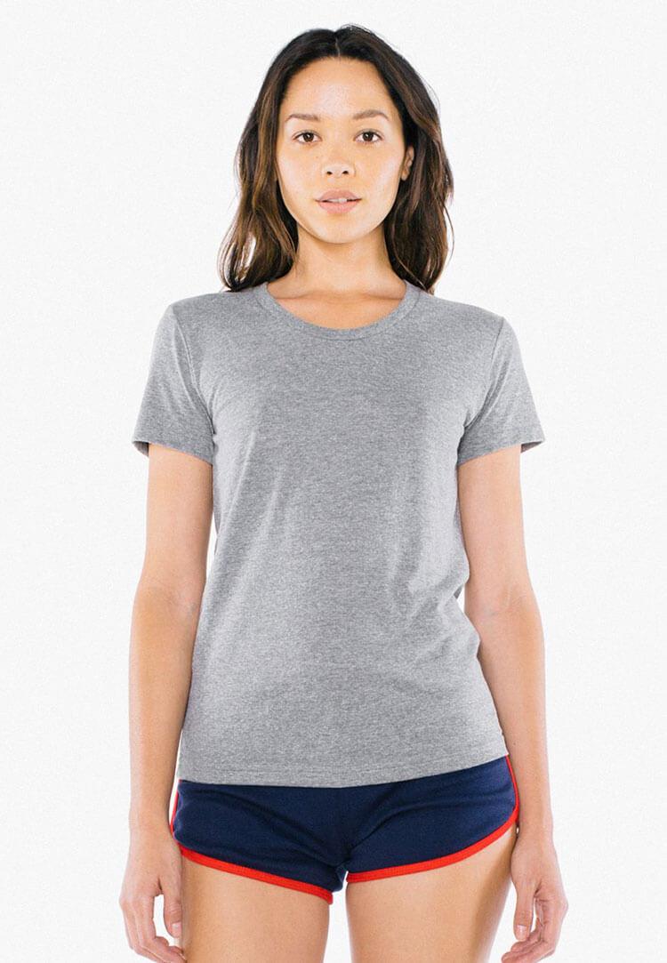 Custom screen printing american apparel tr301w threadbird for American apparel custom t shirt printing