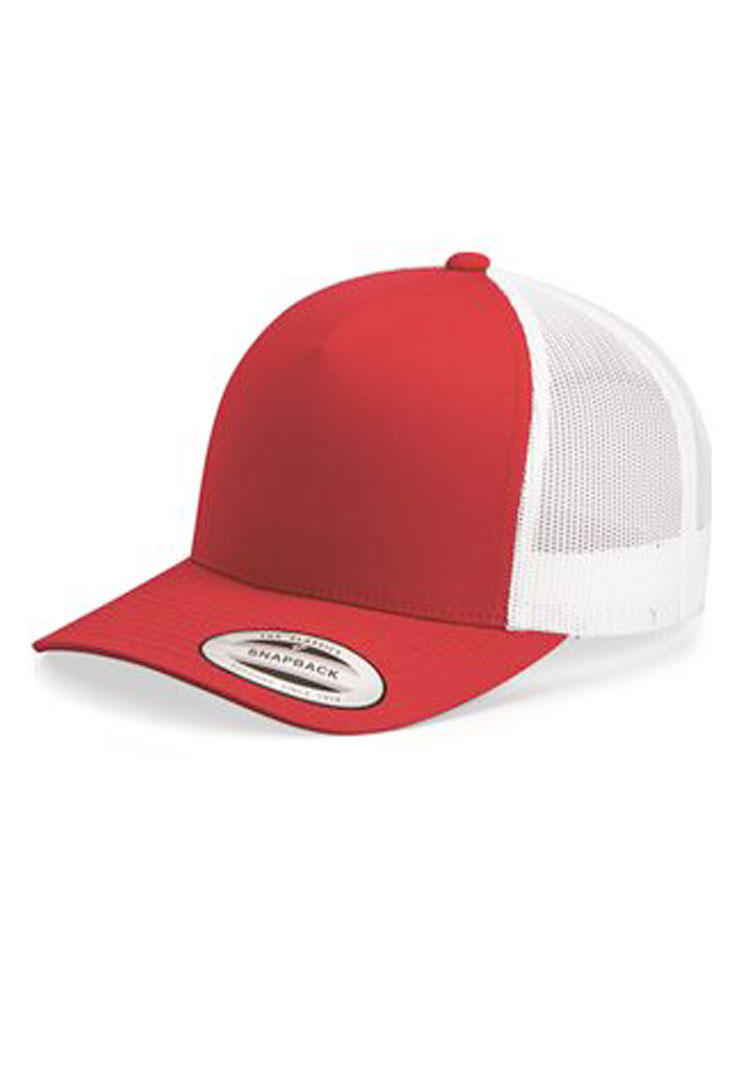Yupoong 6506 red white