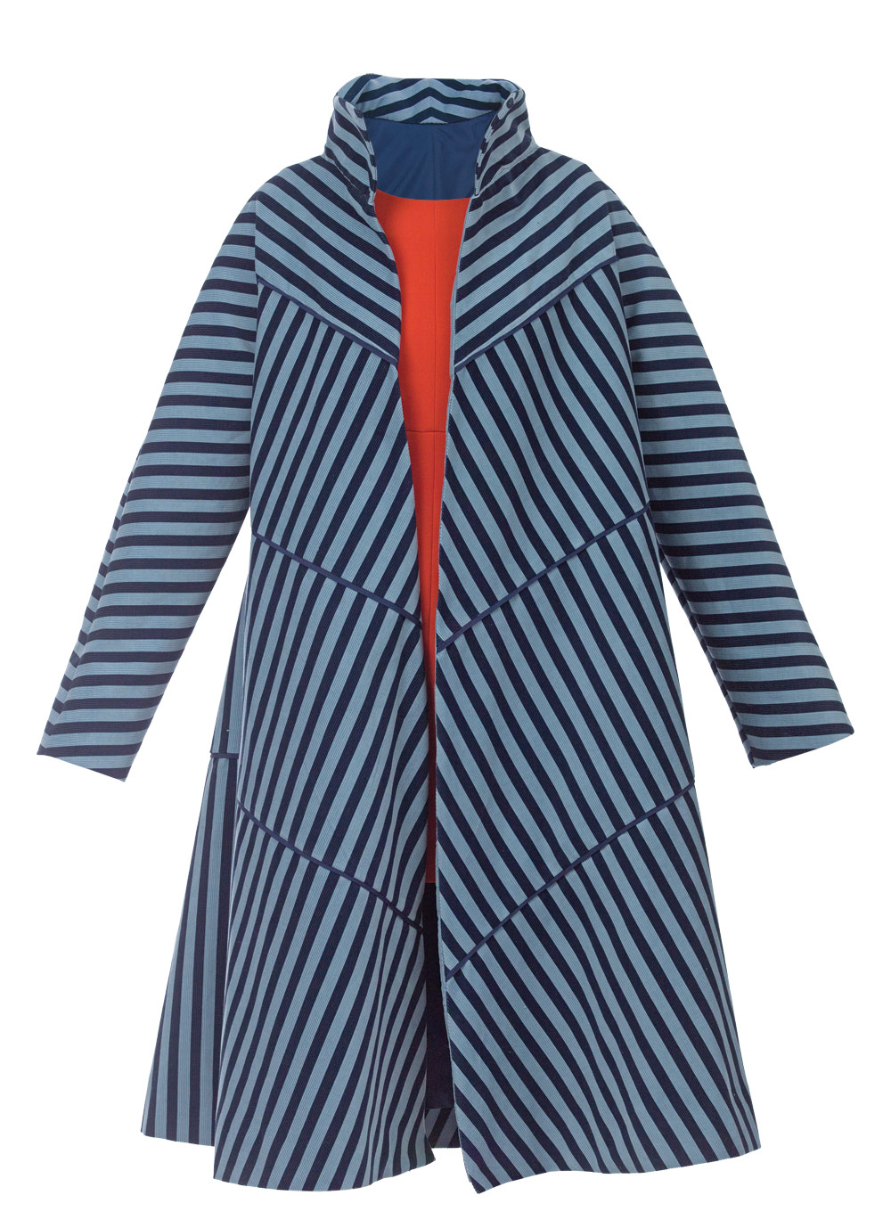 Pattern review center for pattern design bias tier coat threads sewing tip to increase upper arm fullness adjust the sleeve width at a point below the shoulder curve jeuxipadfo Gallery