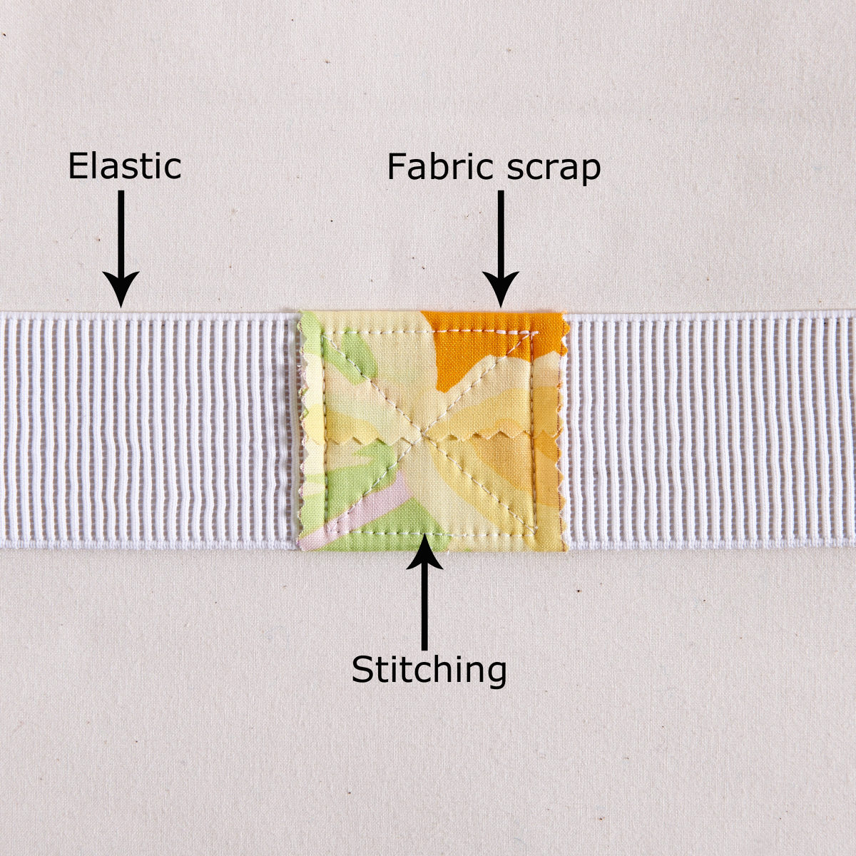 how to add elastic waistband to jeans