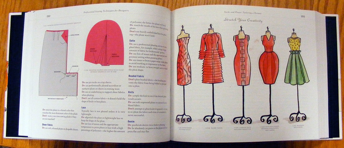 Book review professional sewing techniques for designers