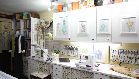 9 Ideas To Decorate Your Sewing Room Part 75