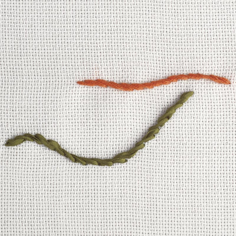 Beginners silk ribbon embroidery five easy stitches