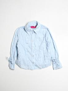 Miss Me Long-sleeve Button-down