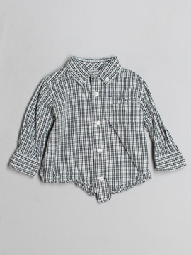 Gymboree Long-sleeve Button-down 12-18