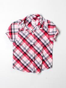 Gymboree Short-sleeve Button-down 6
