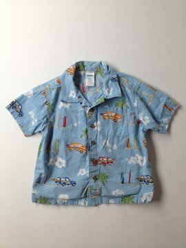 Gymboree Short Sleeve Button