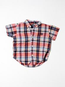 Chaps  Short-sleeve Button-down 24 Mo