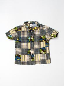 Gymboree Short-sleeve Button-down 2T