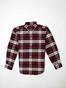 Chaps  Long-sleeve Button-down 12-14