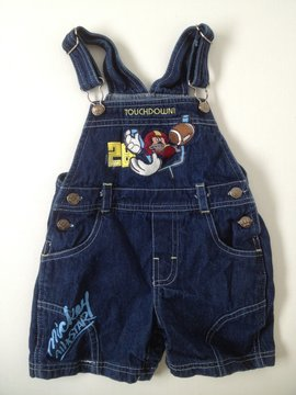Disney Overall Shorts
