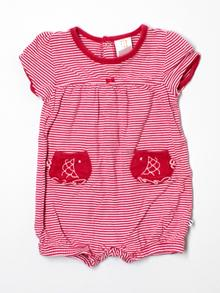 Absorba One Piece Outfit, Short Sleeve 18 Mo
