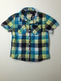 Cherokee Short-sleeve Button-down 3T