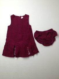 Gymboree Corduroy Dress W/Bloomers