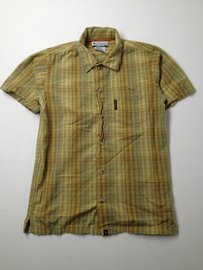 Columbia Short-sleeve Button-down Large