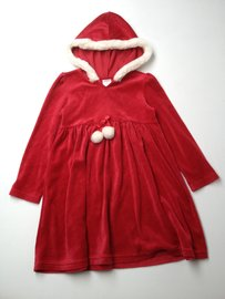 Gymboree Velour Hooded Dress