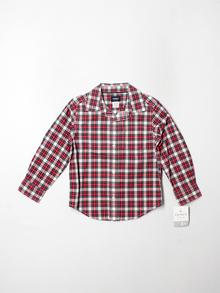 Carter's Long-sleeve Button-down 4T