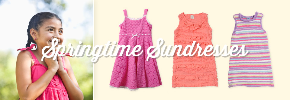 Girls Look: Springtime Sundresses