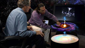 Nassim Haramein and Foster Gamble