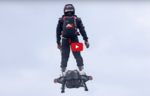 Farthest flight by hoverboard