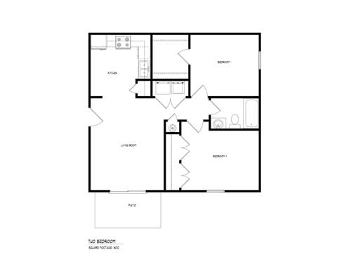 Victoria Place 2 Bedroom