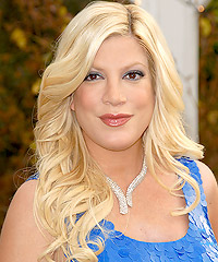 Tori Spelling hairstyles