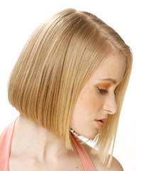 short roller set hairstyles : Short+Hair+All+One+Length Haircuts vs. Hairstyles: Easy Makeover Ideas ...