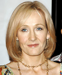 J K Rowling hairstyles