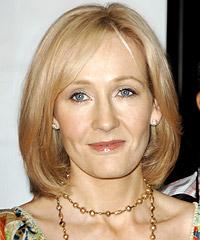 J K Rowling hairstyles