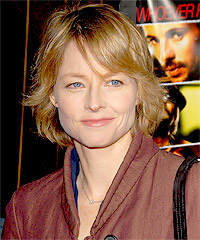 Jodie Foster hairstyles