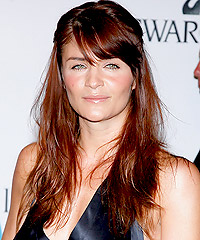Helena Christensen hairstyles