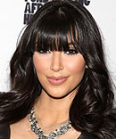 Kim Kardashian hairstyles