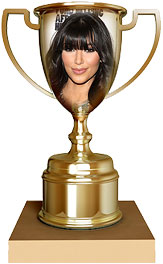 Kim Kardashian trophy