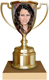 Miley Cyrus trophy
