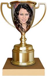 Miley Cyrus trophy