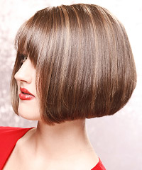 Salon Hairstyle: Straight Medium