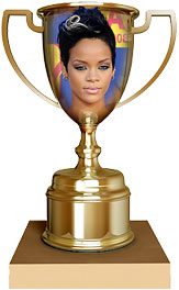 Rihanna trophy
