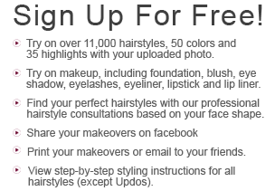 Join us today to view yourself with 1000's of hairstyles and 50 colors! Receive a professional hair consultation and much more...
