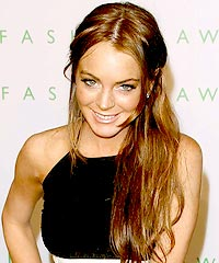 Lindsay Lohan hairstyles