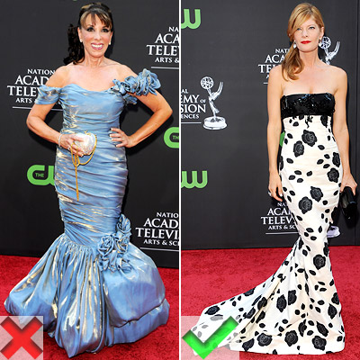 Kate Linder and Michelle Stafford hairstyles