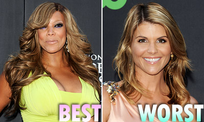 Wendy Williams and Lori Loughlin hairstyles
