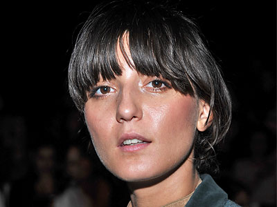 Irina Lazareanu hairstyles